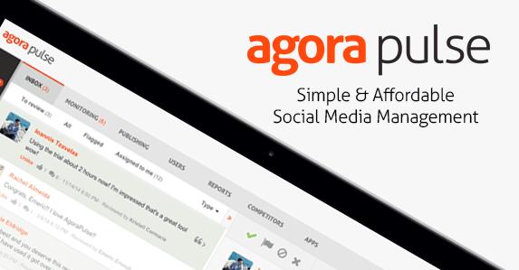 Agorapulse – la gestion facile de vos réseaux sociaux