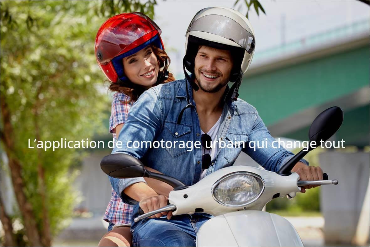 BeeRide – Partage de trajets urbains en moto - comotorage