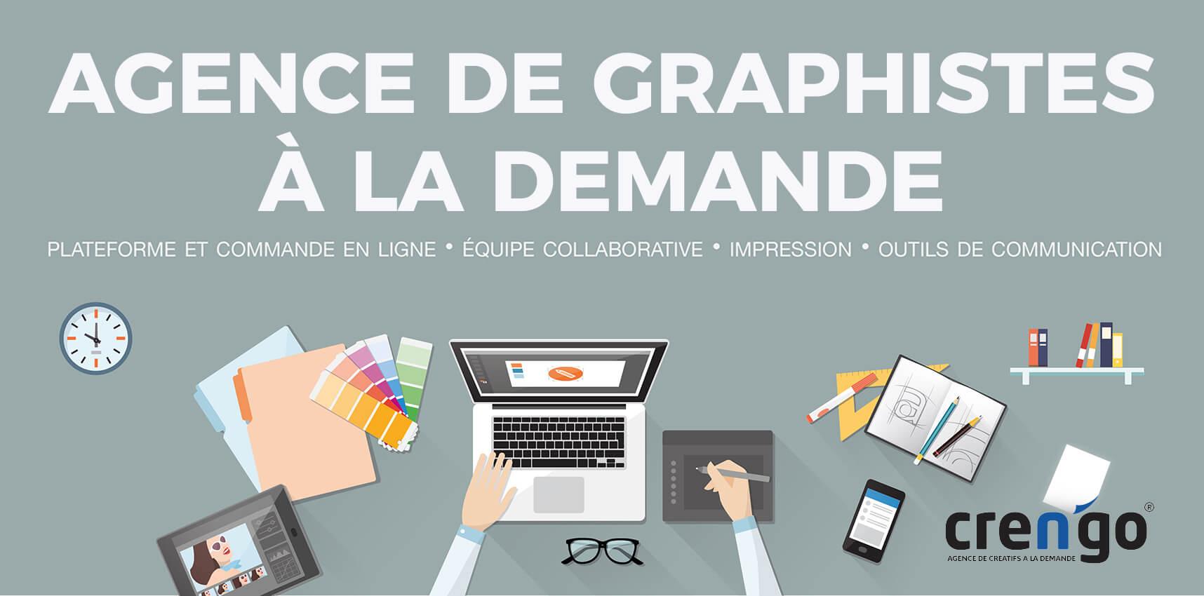 Crengo - plateforme de création graphique en ligne