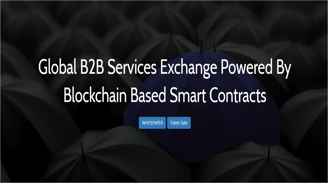 Acuitty - Global B2B Services Exchange Powered By Blockchain Based Smart Contracts