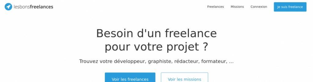 Les Bons Freelances - Trouvez le Freelance idéal pour vos missions