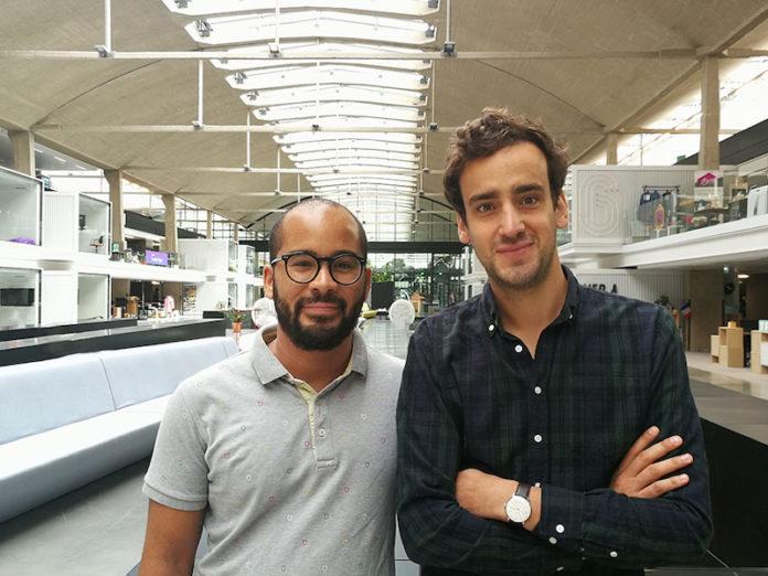 Fabien Akunda & Benoit Raulin co-fondateurs de Wehome à Station F