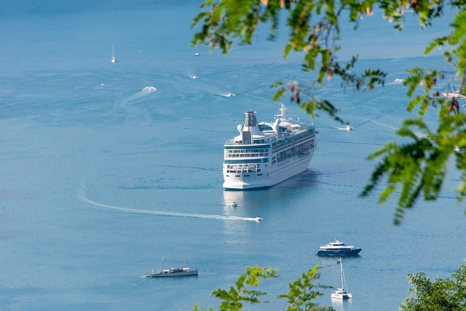 Ferry, Pasajeros, Mar, Ensenada, Crucero, Agua